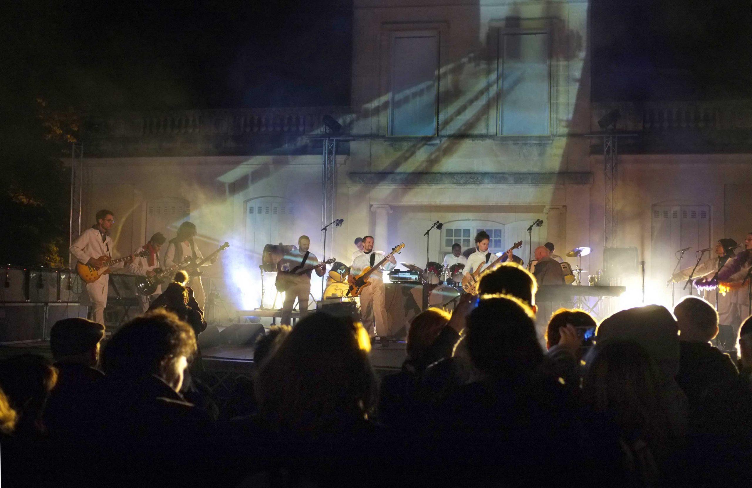 Fantasmagorie dans le parc Chantecler pour les 30 ans de l'association en 2015